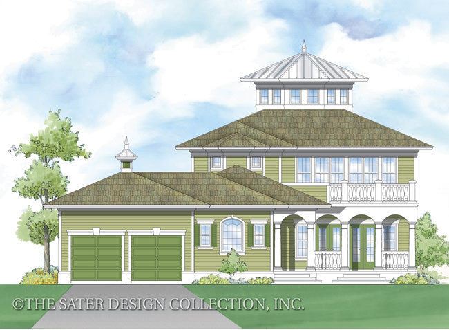 Home plan emerald bay sater design collection for Tnd house plans