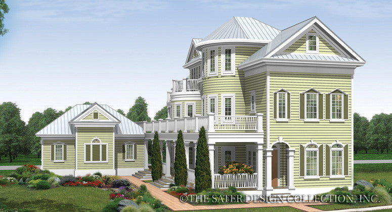 Seagrove Lake-Front Elevation-Plan #6882