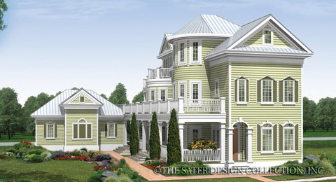 House plan seagrove lake sater design collection for Traditional neighborhood design house plans