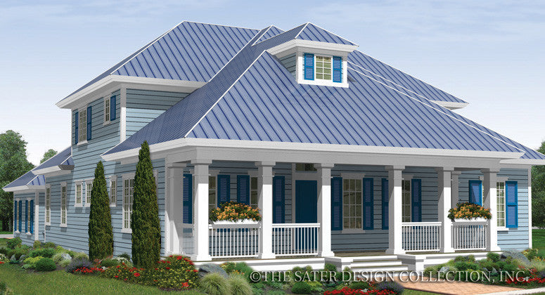 House plan pelham valley sater design collection for Traditional neighborhood design house plans