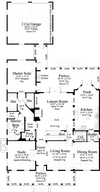 Pelham Valley-Main Level Floor Plan #6883