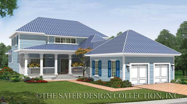 House Plan Pelham Valley Sater Design Collection