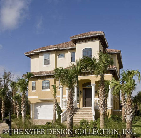Home plan castaway cove sater design collection for Sater com
