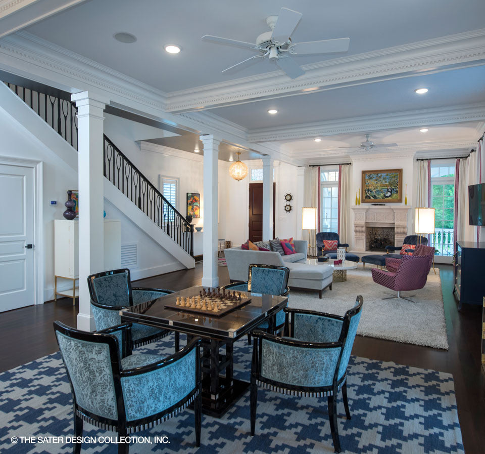 The Sater Design Collection home plan carrington | sater design collection