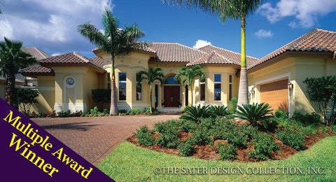 Home Plan Bay Colony | Sater Design Collection