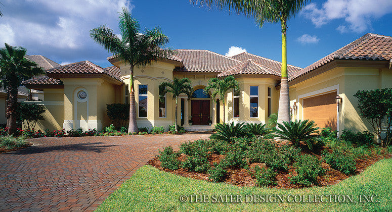Bay Colony-Front Elevation-Plan #6904