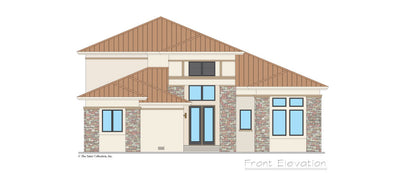 Valhalla House Plan front elevation