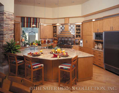 La Paloma-Kitchen View-Plan #6915