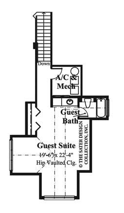 La Paloma-Upper Level Floor Plan-#6915