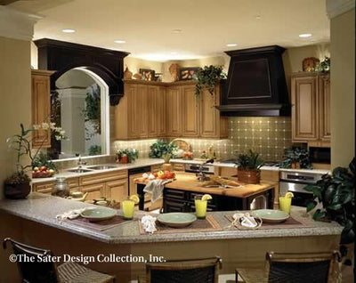 St. Regis Grand-Kitchen-Plan #6916