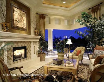 St Regis Grand-Living Room-Plan #6916