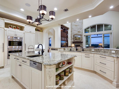 Verano House Plan Kitchen and family room