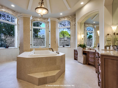 Verano House Plan MAster Bath Tub