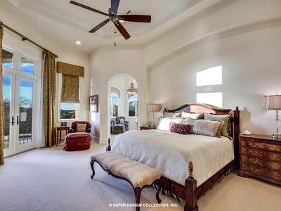 Verano House Plan Master Suite Bedroom