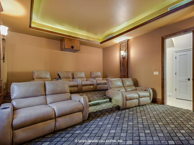 Verano House Plan Media Room 2