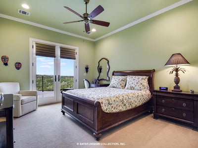 Verano House Plan Guest Bedroom
