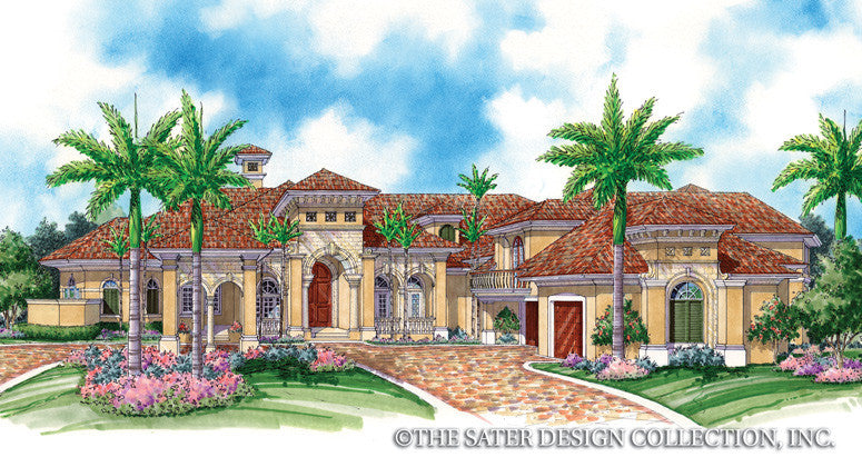 House Plan Napier Sater Design Collection