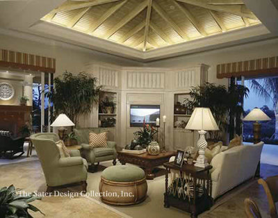 Andros Island Family Room Image - Plan 6927_FR