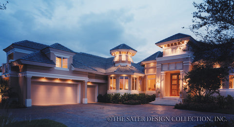 Courtyard Home Plans | House Plans With Outdoor Space | Sater