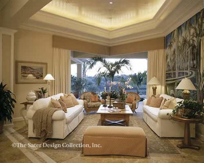 Andros Island - Living Room View - Plan 6927_LR