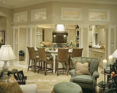 Andros Island Breakfast Nook Plan 6927_NK