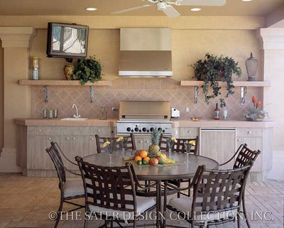 Saraceno-Outdoor Kitchen- Plan#6929