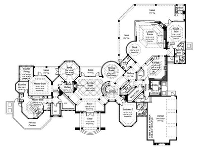Trissino-Main Level Floor Plan-#6937