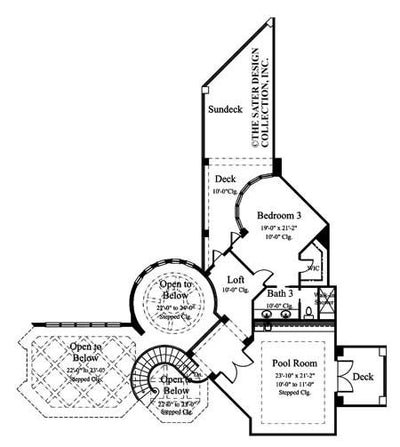 Trissino-Upper Level Floor Plan-#6937