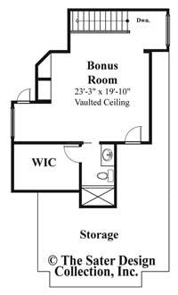 Isabel Upper Level Floor Plan #6938