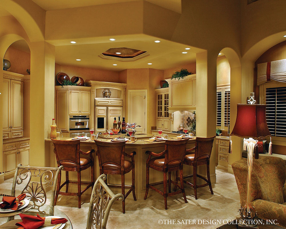 The Sater Design Collection house plan ristano | sater design collection
