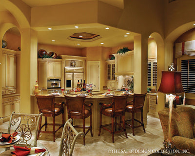 Ristano Home Plan Kitchen View #6939