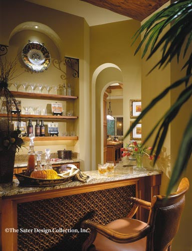 Marrakesh-Wet Bar-Plan #6942