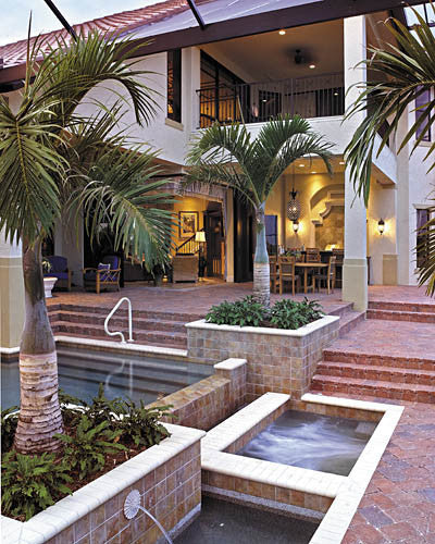 Luxury Mediterranean Style Home Plans: Sater Design Collection