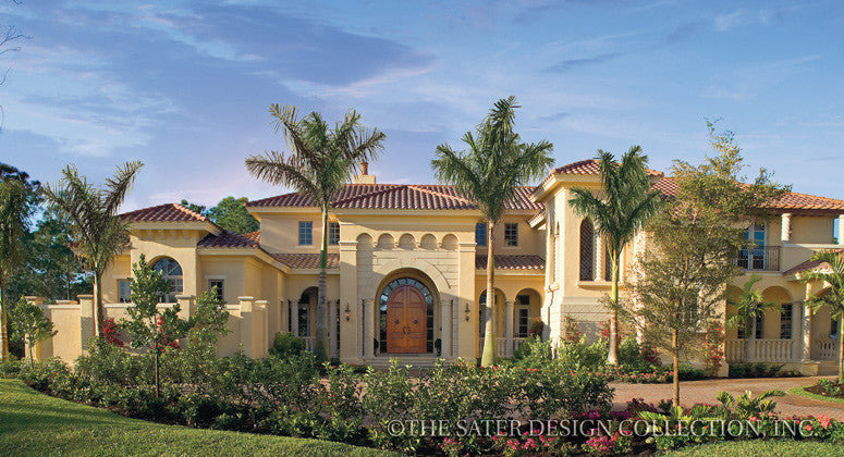 Home plan cordillera sater design collection for Sater com