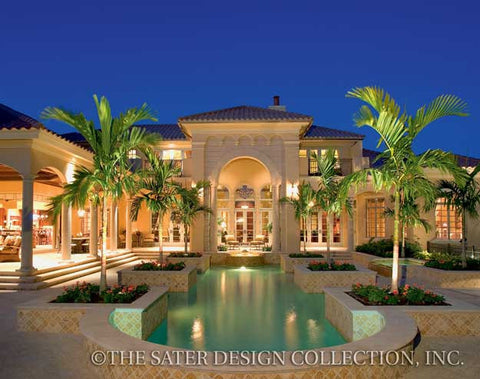 Cordillera luxury home plan sater design collection for Luxury home collection