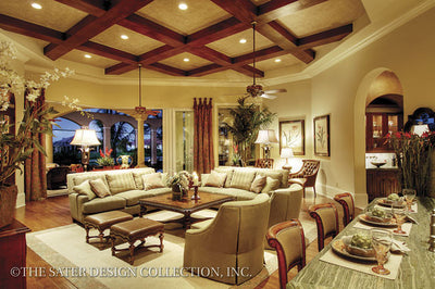 Prima Porta-Family Room-Plan #6955