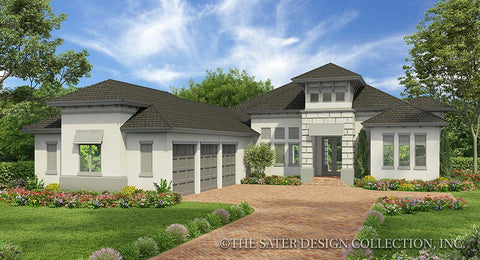 West Indies Caribbean Styled Home Plans Sater Design Collection