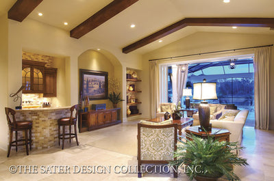 6959-Valdivia Home Plan's Great Room