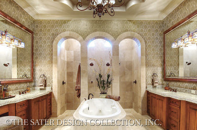 6959-Valdivia Home Plan's Master Bath