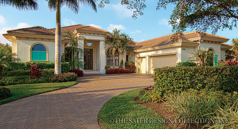 Home plan brindisi sater design collection for Sater home designs