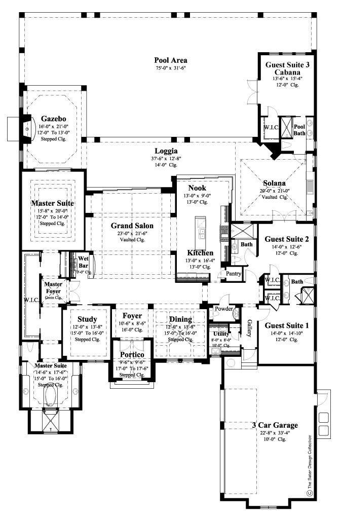Home Plans House Plans Floor Plans Sater Design Collection
