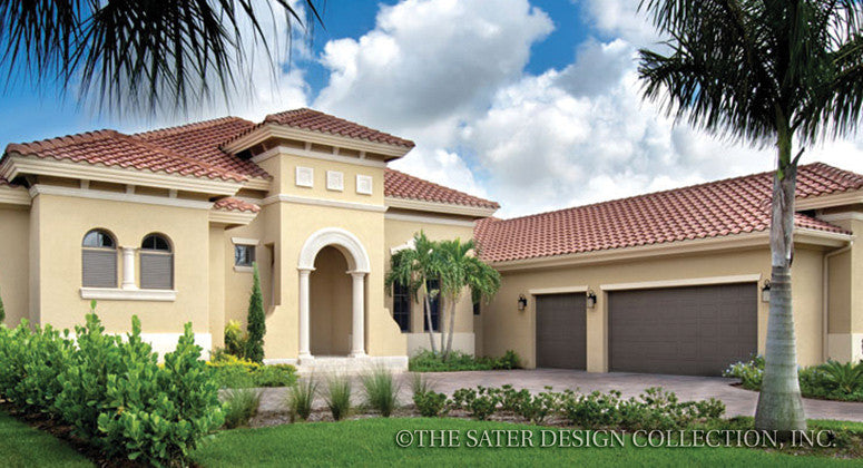 Home plan barletta sater design collection for The tuscan home blog