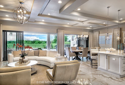 Monterchi Home Plan #6965-Great Room View