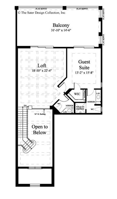 Monterchi-Upper Level Floor Plan-#6965