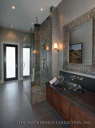 Moderno-Guest Bathroom-Plan #6967