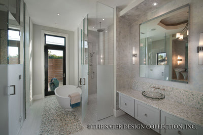 Moderno-Master Bathroom-Plan #6967