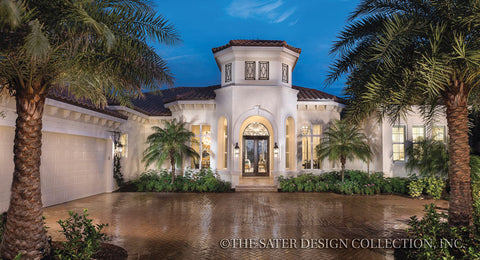 House Plan Portofino Sater Design Collection