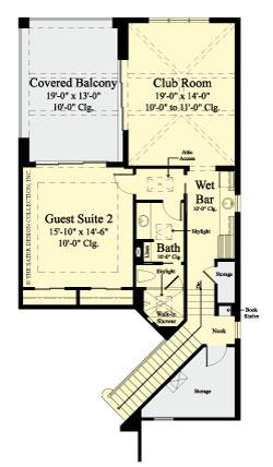 Stillwater-Upper Level Floor Plan-Plan #6970