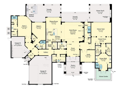 Emery House Design floor plan