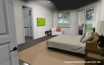 Emery House Plan guest bedroom